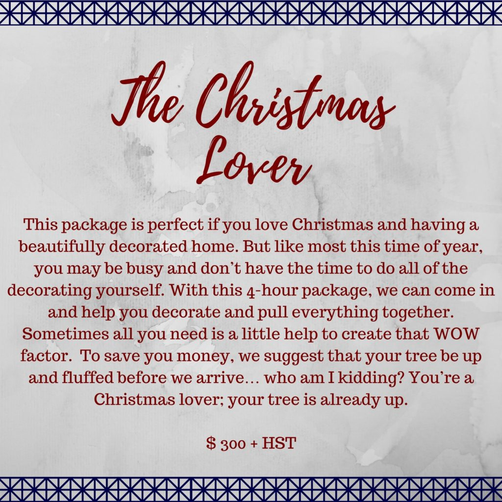 | The Christmas Lover |
